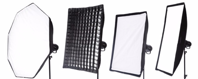 Examples of softbox shapes
